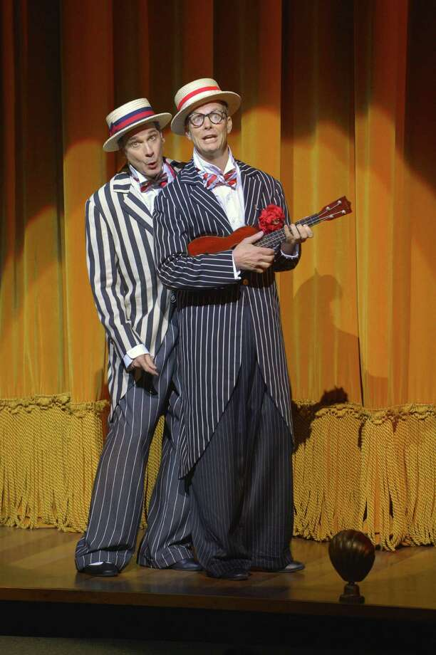 "David Shiner (left) and Bill Irwin in ""Old Hats"" at ACT Photo: Kevin Berne / ONLINE_YES"