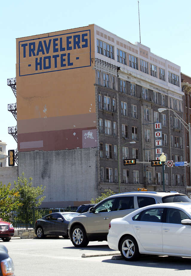The Travelers Hotel was considered upscale when it opened in 1914 but hasn't been that way for years. Photo: Tom Reel / San Antonio Express-News