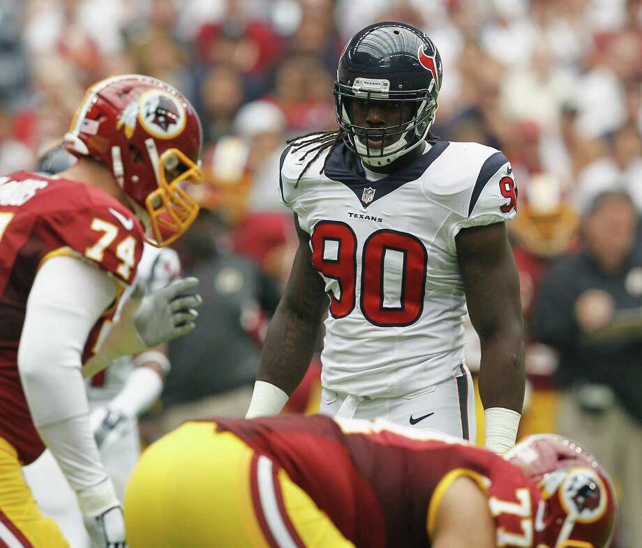 Jadeveon Clowney, the No. 1 overall draft pick by the Texans, could return Monday night at Pittsburgh after having knee surgery following the season-opening win over the Redskins. Photo: Bob Levey / Getty Images / 2014 Getty Images