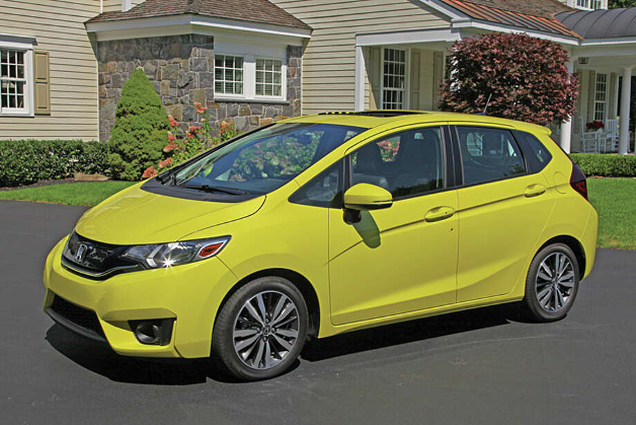 2015 Honda Fit (photo © Dan Lyons, all rights reserved) / copyright: Dan Lyons - 2014