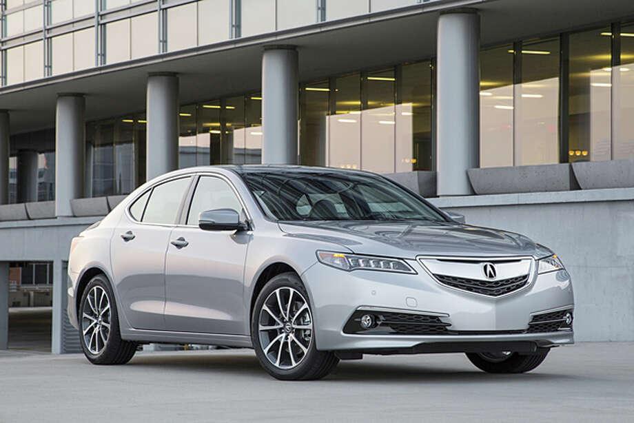 2015 Acura TLX (photo courtesy Acura) Photo: Acura / © 2014 American Honda Motor Co., Inc.