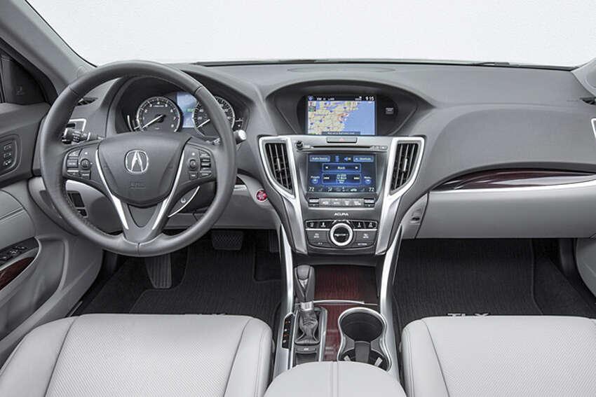 2015 Acura TLX (photo courtesy Acura)