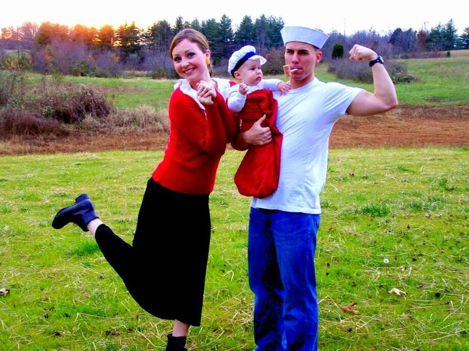 Popeye and Olive Oyl Photo: The Patrick Peacock
