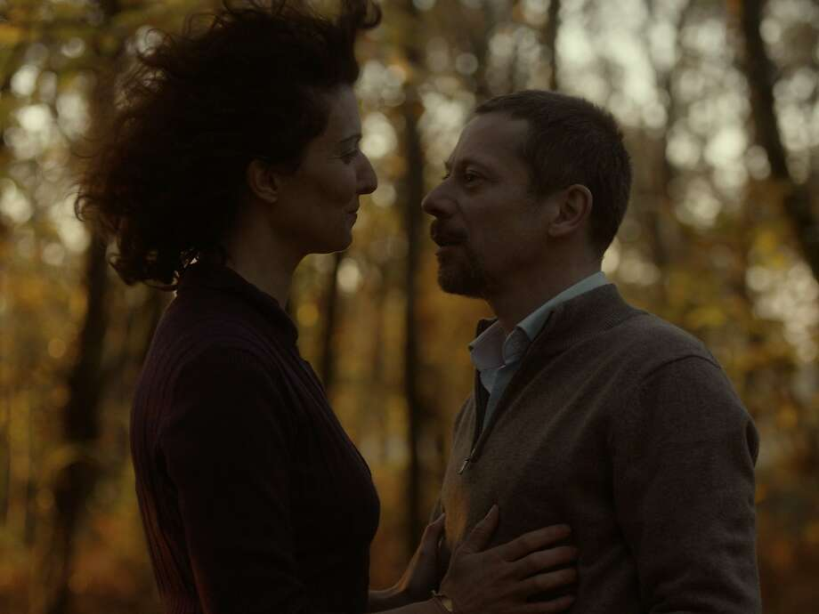 Mathieu Amalric and Stéphanie Cléau in The Blue Room. Photo: IFC Films