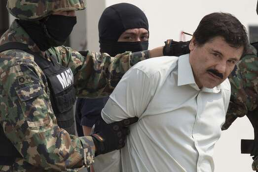 "Joaquin ""El Chapo"" Guzman: $1 Billion  El Chapo was the leader of the Sinaloa Cartel. He awaits trial in Mexico after being captured earlier this year. Photo: Bloomberg"