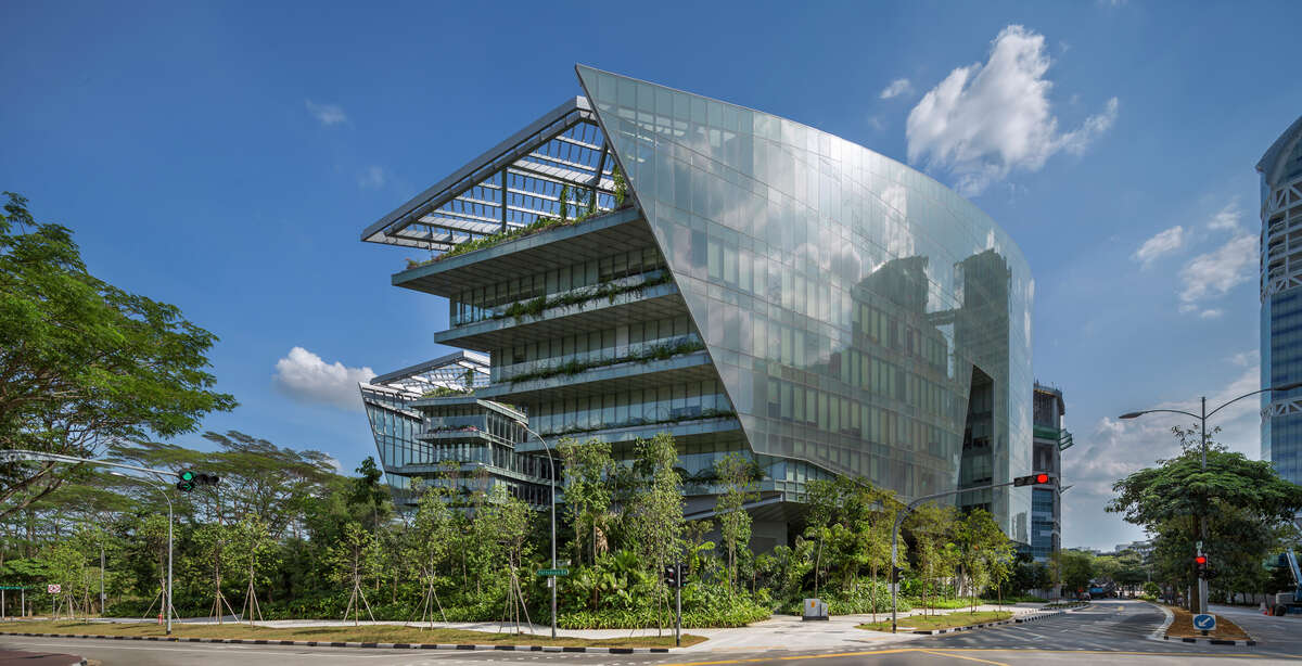 We'll start the Honor Award winners with Aedas' Hong Kong office, which won for Sandcrawler, in Singapore. This is Lucasfilm's Singapore facility and, yes, was designed to resemble the Sandcrawler transport from