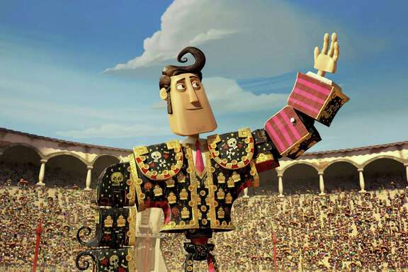 """Manolo, voiced by Diego Luna, is a matador who'd rather be a musician in """"The Book of Life."""""""