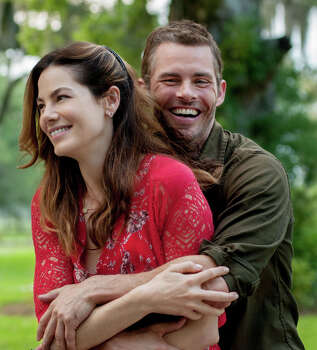 """The Best of Me""IMDb: 5.6/10Review by Michael Ordoña: Romance springs eternal in 'Best of Me'One-and-a-half starsHe's an oil-rig worker who reads Stephen Hawking, an expert mechanic and, oh, by the way, is gorgeous. This heroic, humble specimen of perfect middle age also gardens. And cooks. His name? Dawson Cole.