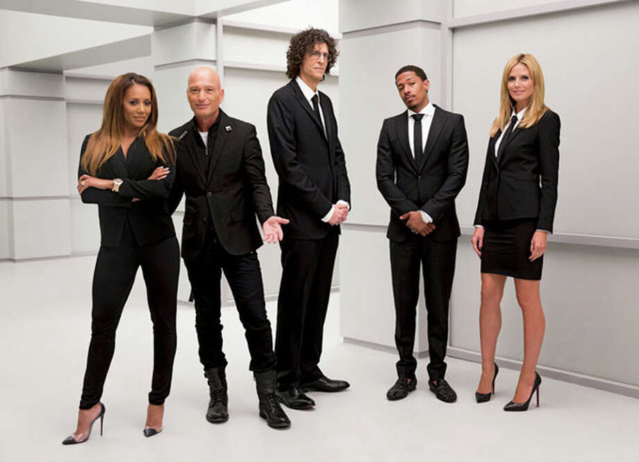 'America's Got Talent' staples Mel B, Howie Mandel, Howard Stern, host Nick Cannon and Heidi Klum will be grading talent from S.A. Photo: NBC