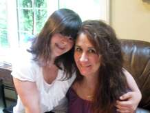 Rosemary Alfredo is pictured with her 24-year-old daughter Collette DiVitto.  Alfredo is fighting a court  order to Collette to Connecticut from Massachusetts because Collette's court-appointed guardian has determined she's better off living her father.