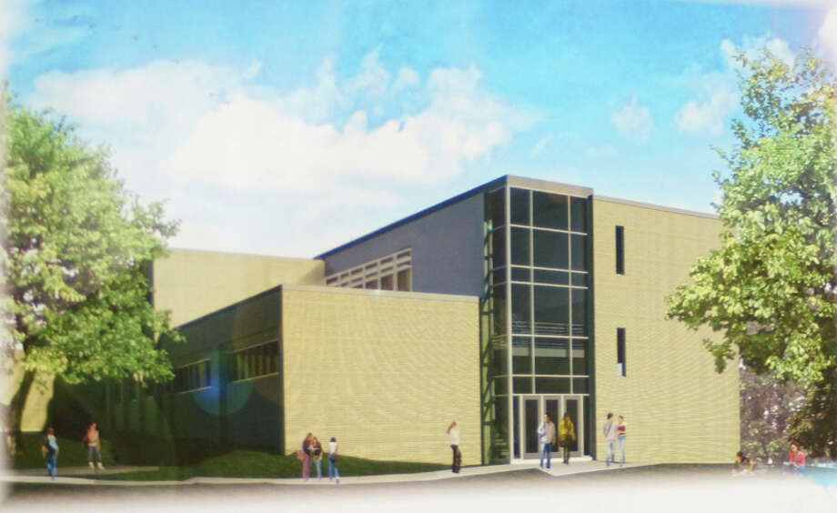 A rendering of the planned addition to Webster House at Fairfield Ludlowe High School. The addition would add a total of six classrooms. Photo: Contributed Photo /  Fairfield Citizen contributed