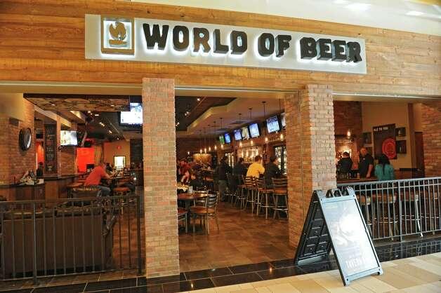 Exterior of World of Beer at Crossgates Mall on Friday, Oct. 10, 2014 in Guilderland, N.Y. (Lori Van Buren / Times Union) Photo: Lori Van Buren / 10028965A