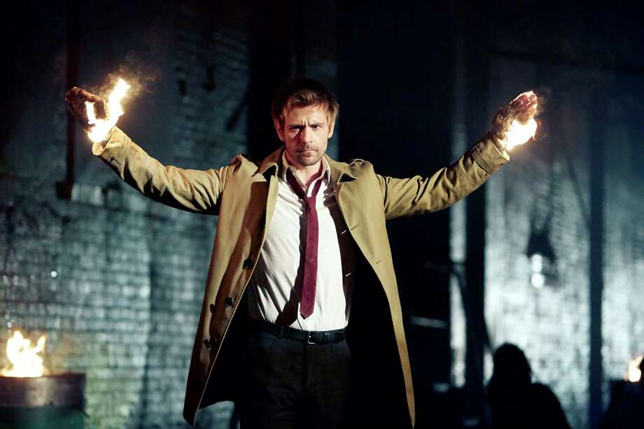 Matt Ryan plays supernatural detective and demon hunter John Constantine in a new NBC horror series. Photo: NBC / Quantrell Colbert/NBC / 2014 NBCUniversal Media, LLC