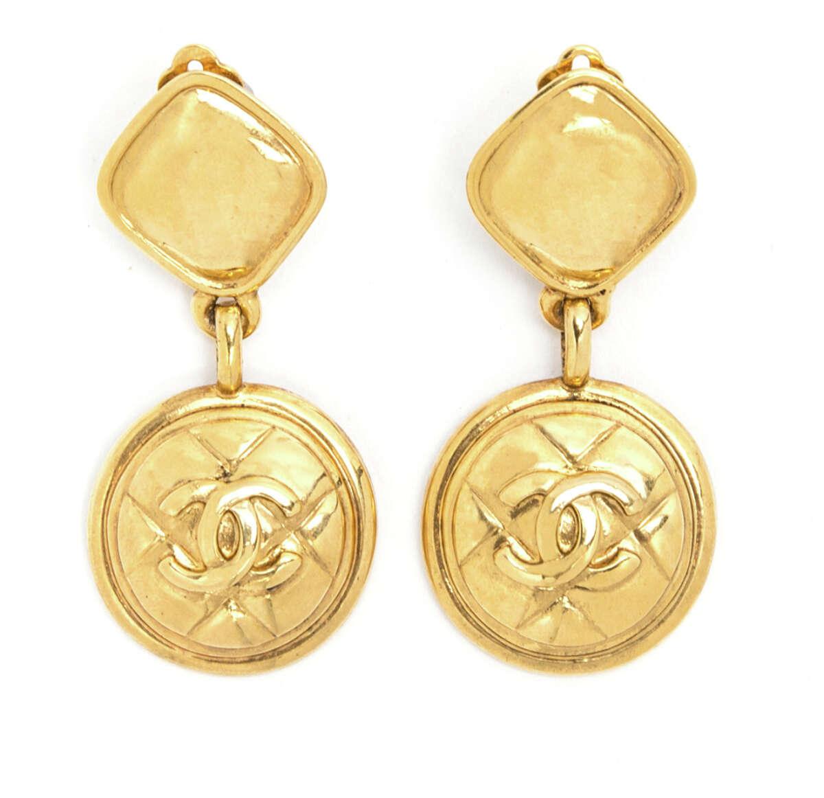 Chanel earrings, $875.