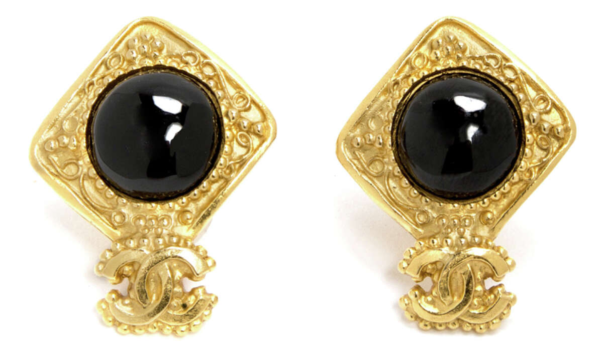 Chanel earrings, $685. Hayes Valley boutique Rand + Statler recently began selling vintage Chanel accessories through a partnership with luxury vintage retailer What Goes Around Comes Around.