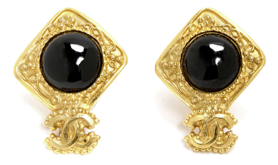 Chanel earrings, $685. Hayes Valley boutique Rand + Statler recently began selling vintage Chanel accessories through a partnership with luxury vintage retailer What Goes Around Comes Around. Photo: Rand + Statler / Rand + Statler / ONLINE_YES