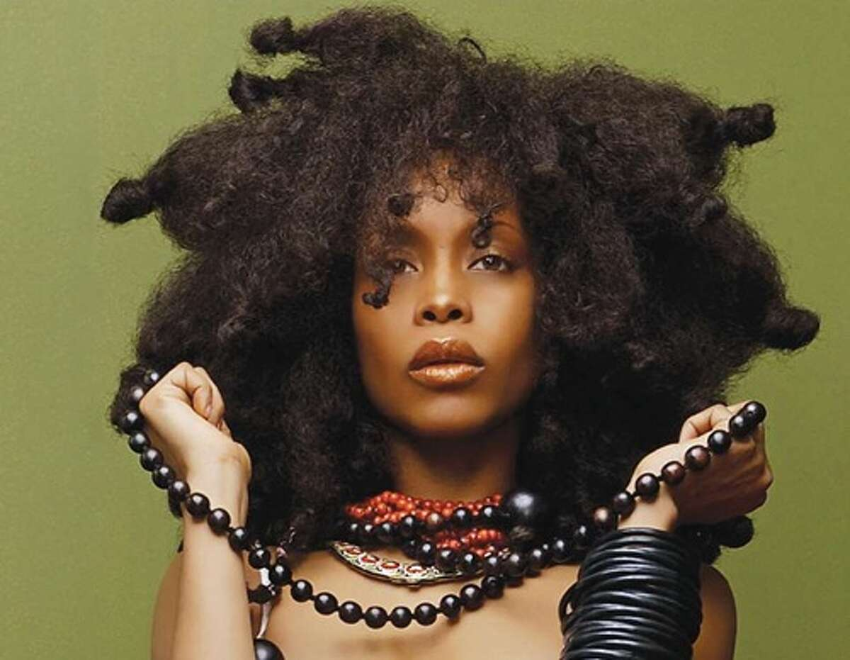 Erykah Badu The Dallas native has the attitude and the look. Don't underestimate her talents.