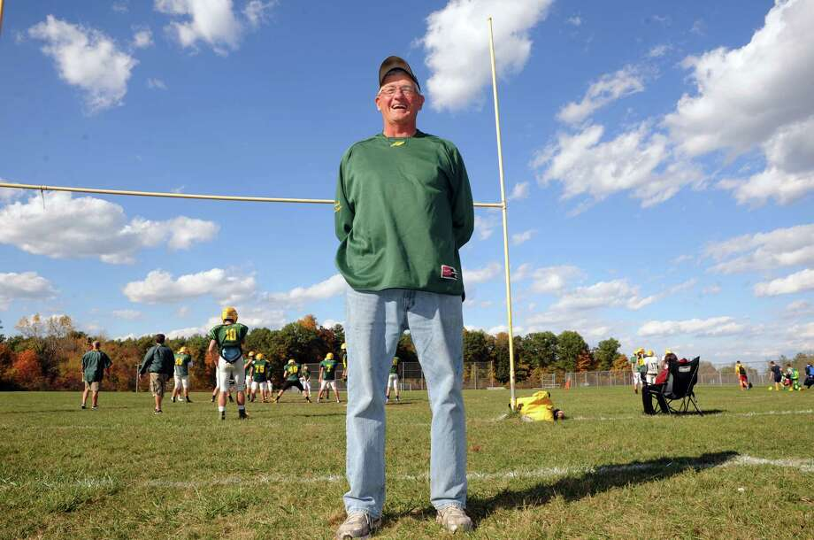 Ravena High School football head coach Gary VanDerzee on Thursday Oct. 9, 2014 in Ravena, N.Y.  (Michael P. Farrell/Times Union) Photo: Michael P. Farrell / 00028881A
