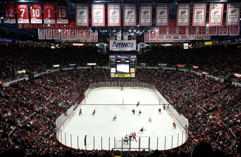 The Joe Louis Arena, home of the Detroit Red Wings, will be demolished and the land given to a creditor. Photo: Paul Sancya / Associated Press / AP
