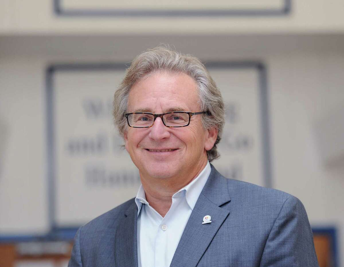 Marc Jaffe, the new chief executive officer of the Childcare Learning Centers at the organization's office in Stamford, Conn., Wednesday, Oct. 15, 2014.