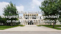 Two famous Dallas homes are on the market - Photo