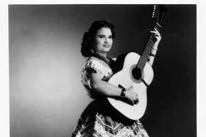 """Undated photo of Lydia Mendoza, a Houston native known as """"The Lark of the Border."""" The Tejano legend recorded as early as 1928."""