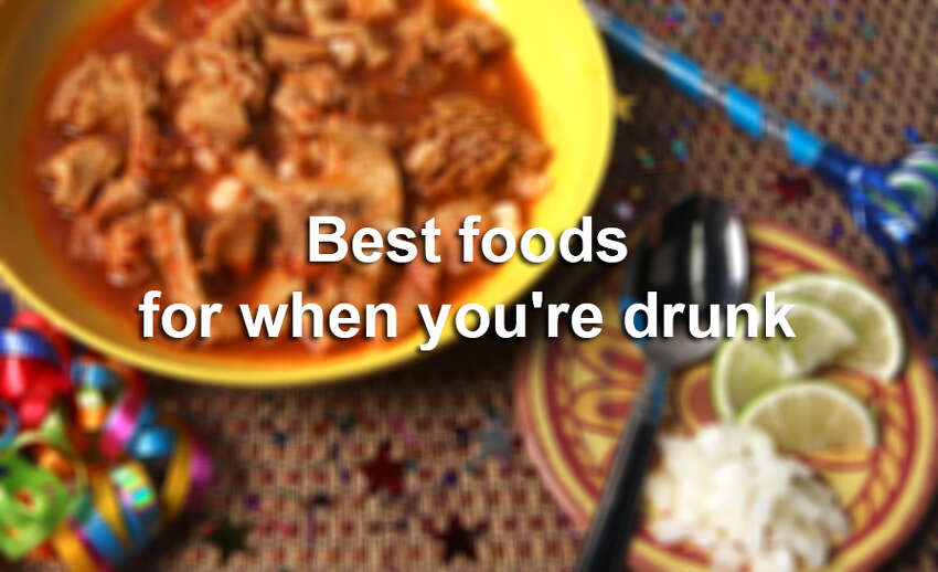 What foods to San Antonians like to eat when inebriated? It is a safe bet that a tortilla is involved. So, here are some of our city's favorite foods to eat when we've been properly loaded.