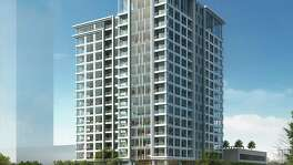 Pelican Builders is planning to put up this 17-story building near the River Oaks District project.