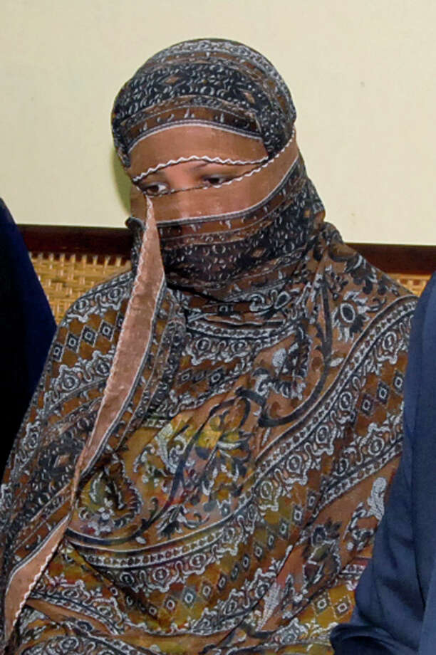 Asia Bibi is accused of shouting insults against the Prophet Muhammad. She was convicted of blasphemy in 2010, a charge she and her family deny. Photo: STR / AP