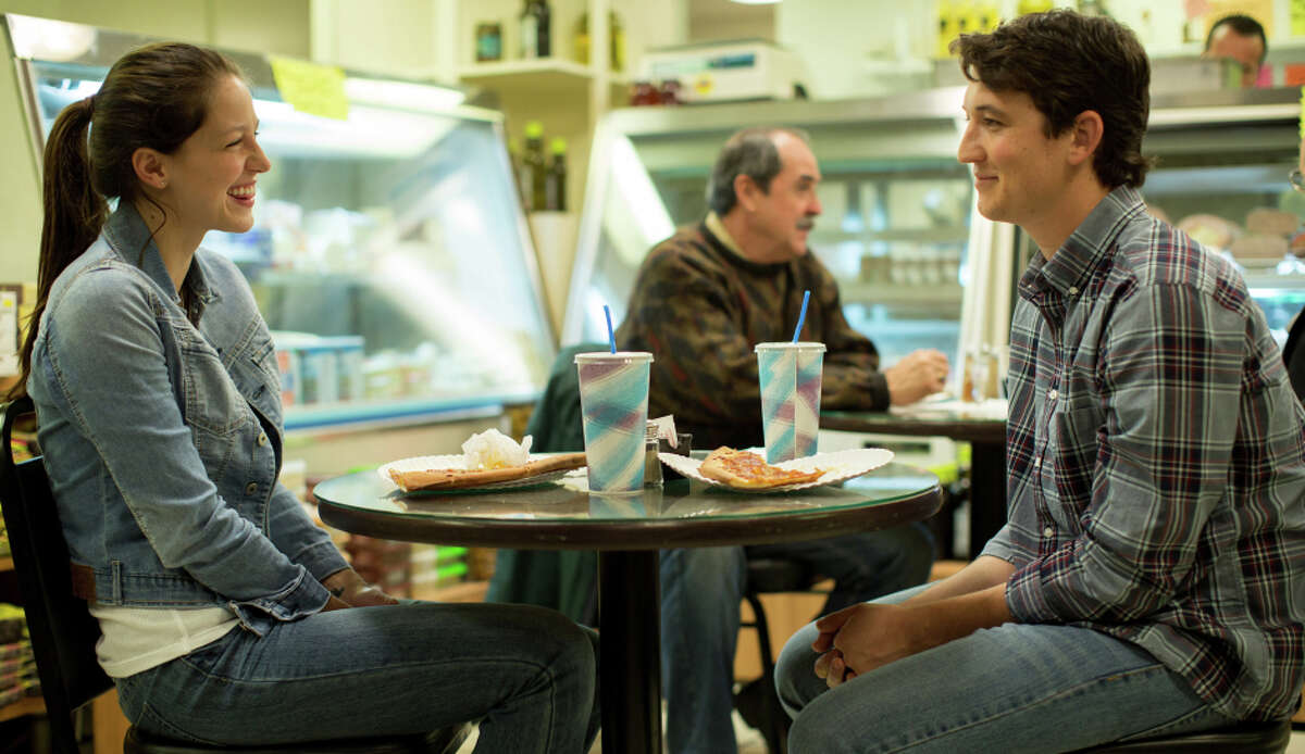Miles Teller (right), with Melissa Benoist, plays a talented