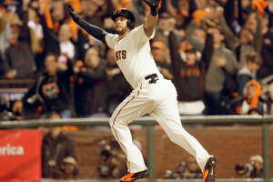 Michael Morse to DH with confidence after NLCS homer - Photo