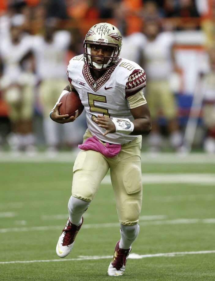 Friday is the first deadline in the code of conduct investigation of Florida St. quarterback Jameis Winston. Photo: Mike Groll / Associated Press / AP