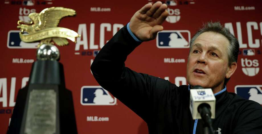 Manager Ned Yost's Royals are the toast of Kansas City after winning their first American League pennant since 1985, the year the team captured its only World Series championship. Photo: Charlie Riedel / Associated Press / AP