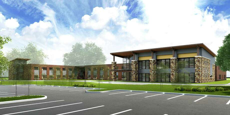 The college system's new Creekside Center is being built near the southwest corner of Kuykendahl Road and West New Harmony Trail in Harris County.