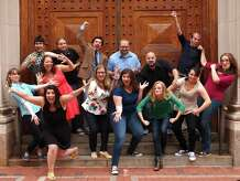 Sea Tea Improv, a Hartford, Conn.-based performance group, will be at the Stamford Museum and Nature Center in Stamford, Conn., on Friday, Oct. 24, 2014, to help build career skills in young people through improv exercises and performances.