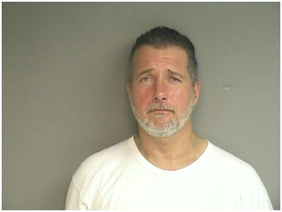 William Kemsley, 44, who gave an address of 198 Ely Ave., Norwalk, was charged with breach of peace, possession of a dangerous weapon on school property and violating a judgeís protective order. Kemsley, who police believe may be a Stamford resident and has resided in the city over long periods in the past, was held in lieu of a $25,000 court appearance bond for allegedly carrying a Samurai sword near Springdale School on Thursday, Oct. 16, 2014. Photo: Contributed Photo / Stamford Advocate Contributed