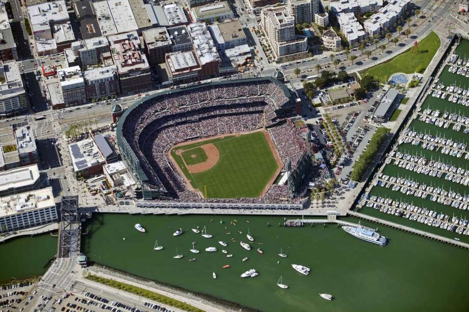 Before it was approved by voters, critics warned that a ballpark at China Basin would ruin the neighborhood. News flash: urban design doomsayers are wrong more often than not. Photo: Brian Haux - Skyhawkphoto