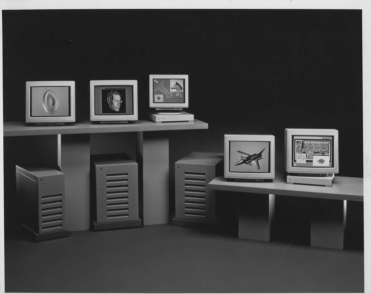 Examples of Sun Microsystems computer models from 1989 -- the SPARCstation and Sun 3 families.