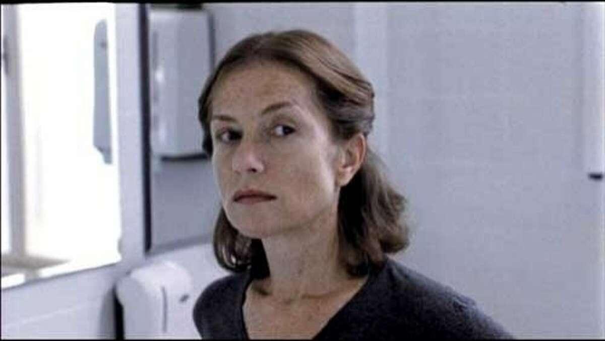 "Isabelle Huppert in ""The Piano Teacher"""