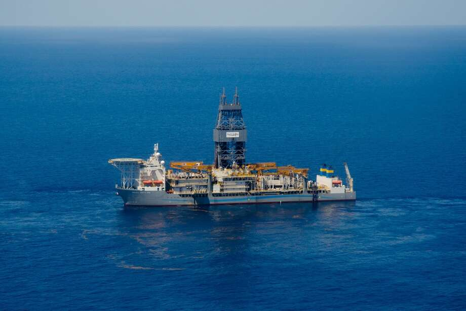 Pacific Drilling's Santa Ana drillship, shown in an undated photo, bored a well 31,866 below sea level and in 6,000 feet of water, striking oil at Chevron's Coronado prospect in the Gulf of Mexico.Scroll through to see some of the largest operations in the Gulf Photo: Pacific Drilling