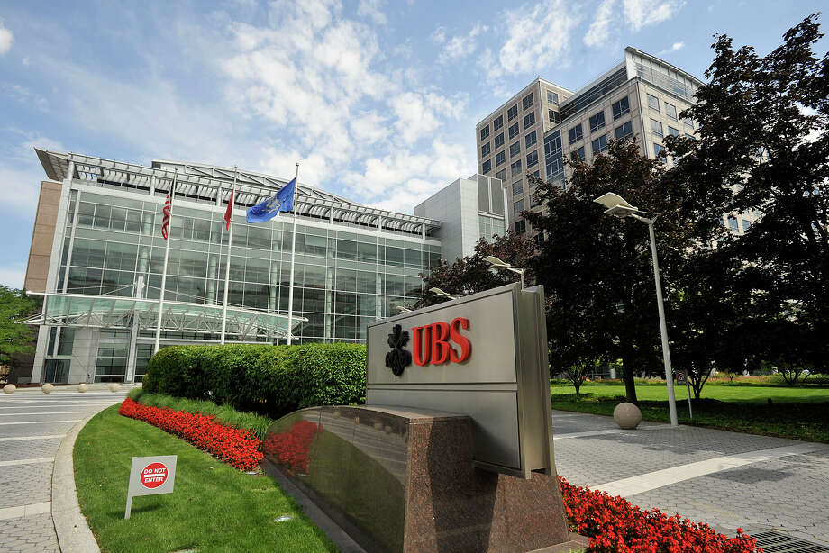 The UBS building in Stamford, Conn. Photo: Jason Rearick / Stamford Advocate