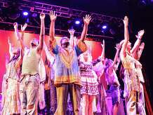 "The 1960s are back at the Downtown Cabaret Theatre in Bridgeport where the Bridgeport Theatre Company is presenting the rock musical ""Hair"" through Oct. 25."
