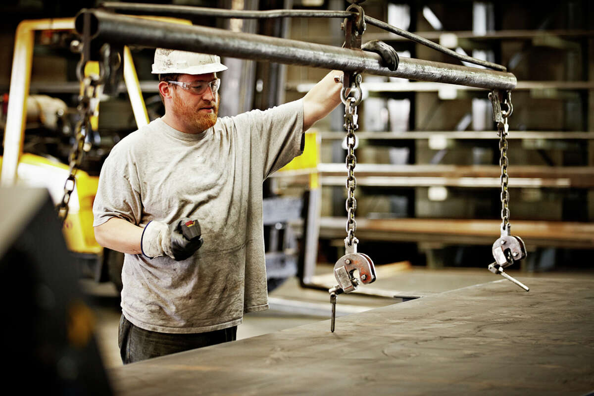 The most unique job in every state Alabama Layout Workers, Metal & PlasticMedian salary: $46,320Number of people employed in state: 1,850Source: 24 Wall St via U.S. Bureau of Labor Statistics