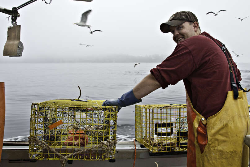 maine fishers related fishing workers photo