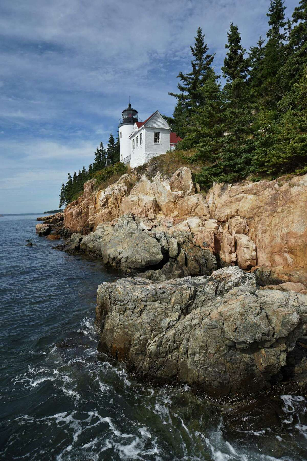 Bass Harbor Head Light is the only lighthouse on Mount Desert Island in Maine. Photo by Joshua Trudell/For the Express-News