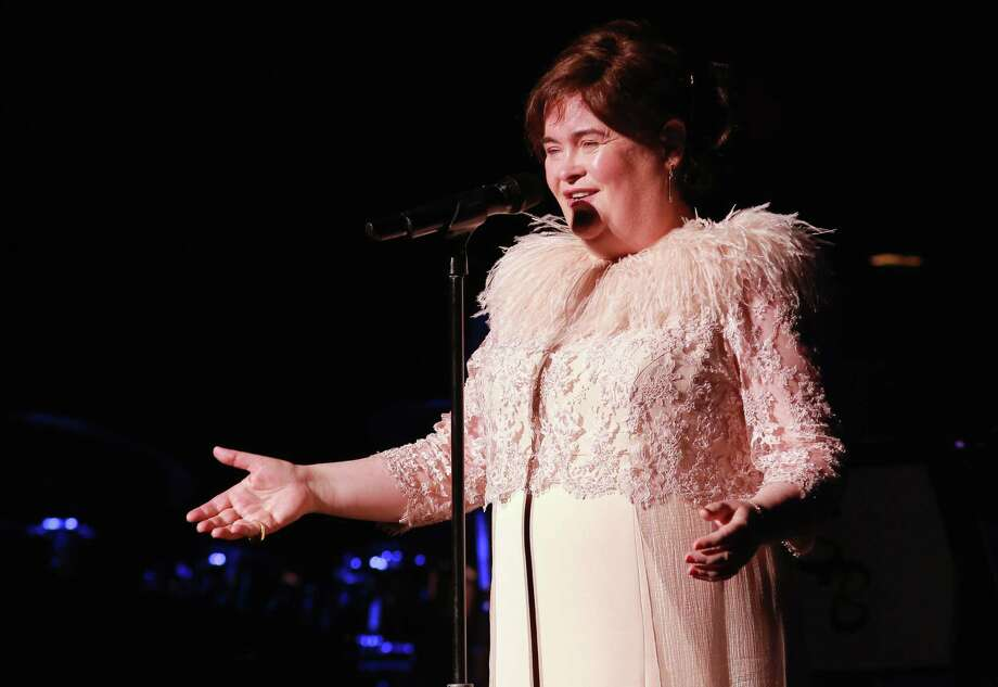 SAN DIEGO, CA - OCTOBER 08:  Susan Boyle performs at the Balboa Theater on October 8, 2014 in San Diego, California. The concert was the first of Boyle's 21-date city tour in the United States.  (Photo by Robert Benson/Getty Images for Susan Boyle) Photo: Robert Benson, Stringer / Getty Images For Susan Boyle / 2014 Getty Images