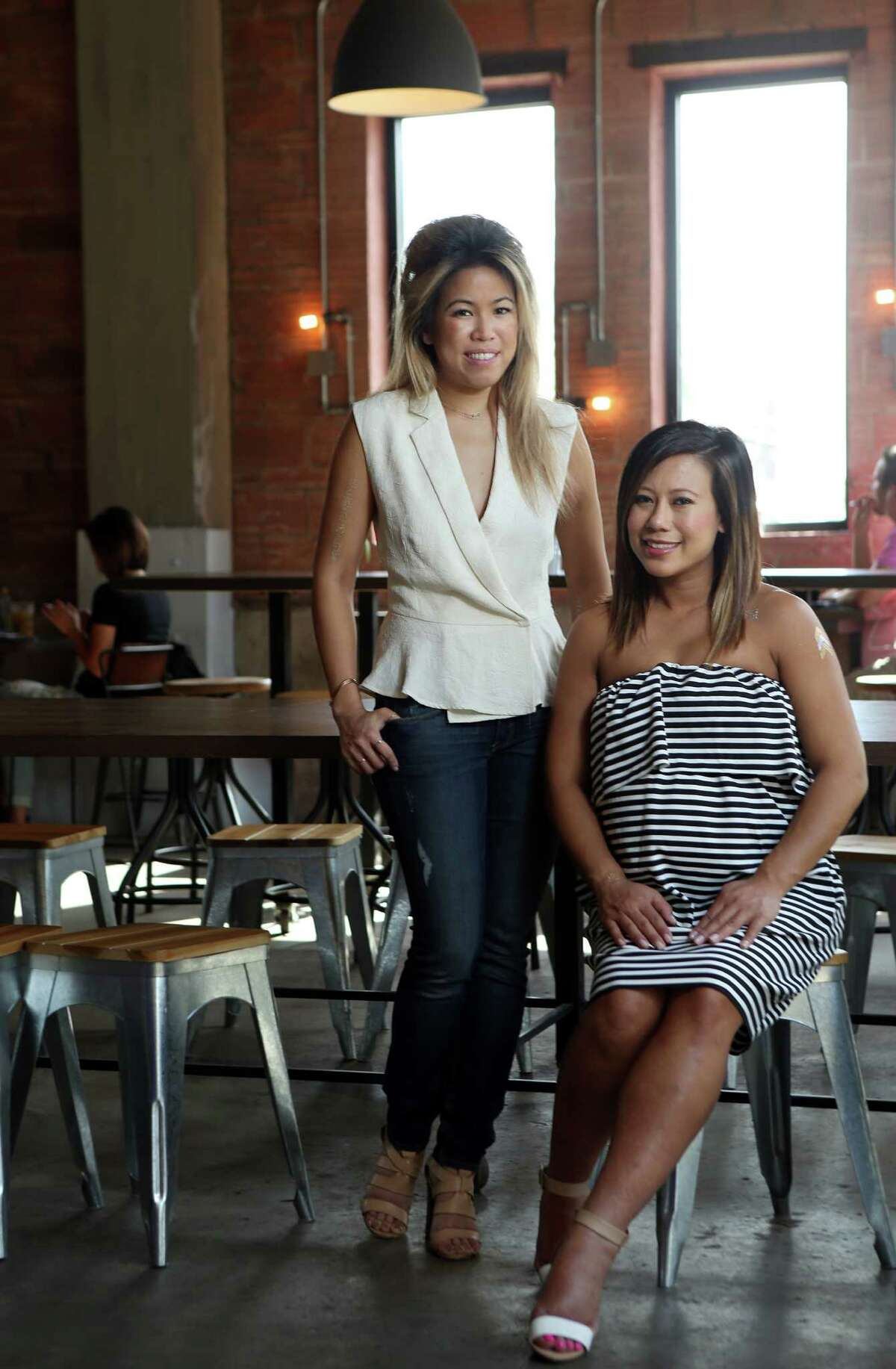 An Le and Sandy Tran  Tout Suite and SWEET 2001 Commerce and 801 Town and Country Blvd, Suite A120 As young women, Anne Le and Sandy Tran were familiar with the