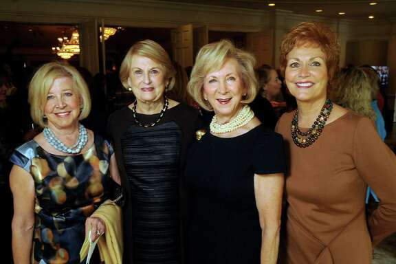 Ann Lowe, from left, Pat Webb, Martha Grimes and Betty Puryear