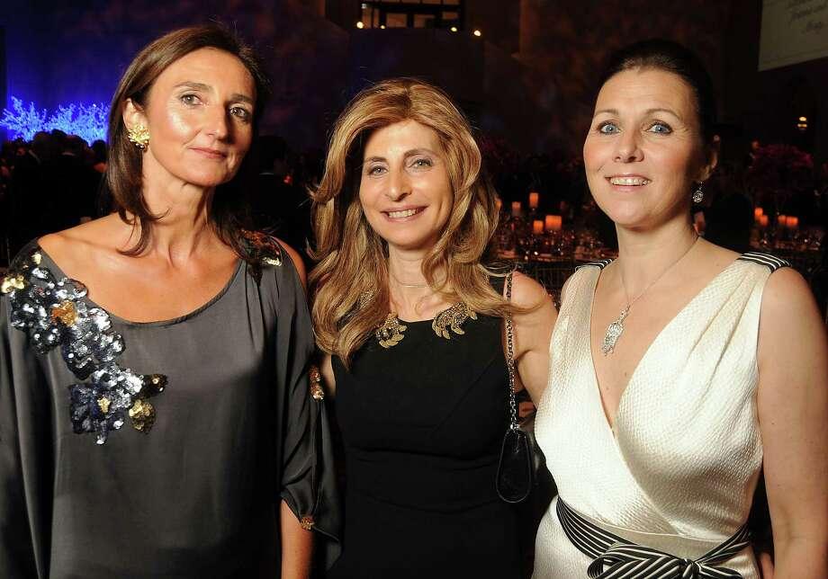 From left: Veronique Prentice, Rania Daniel and Donatella Benckenstein Photo: Dave Rossman, Freelance / © 2014 Dave Rossman