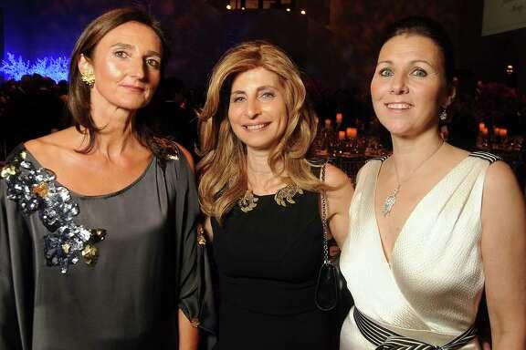 From left: Veronique Prentice, Rania Daniel and Donatella Benckenstein
